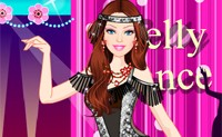 Barbie Exotic Belly Dancer Dress Up