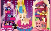 Jeux de barbie jeux - Barbie et son chien ...